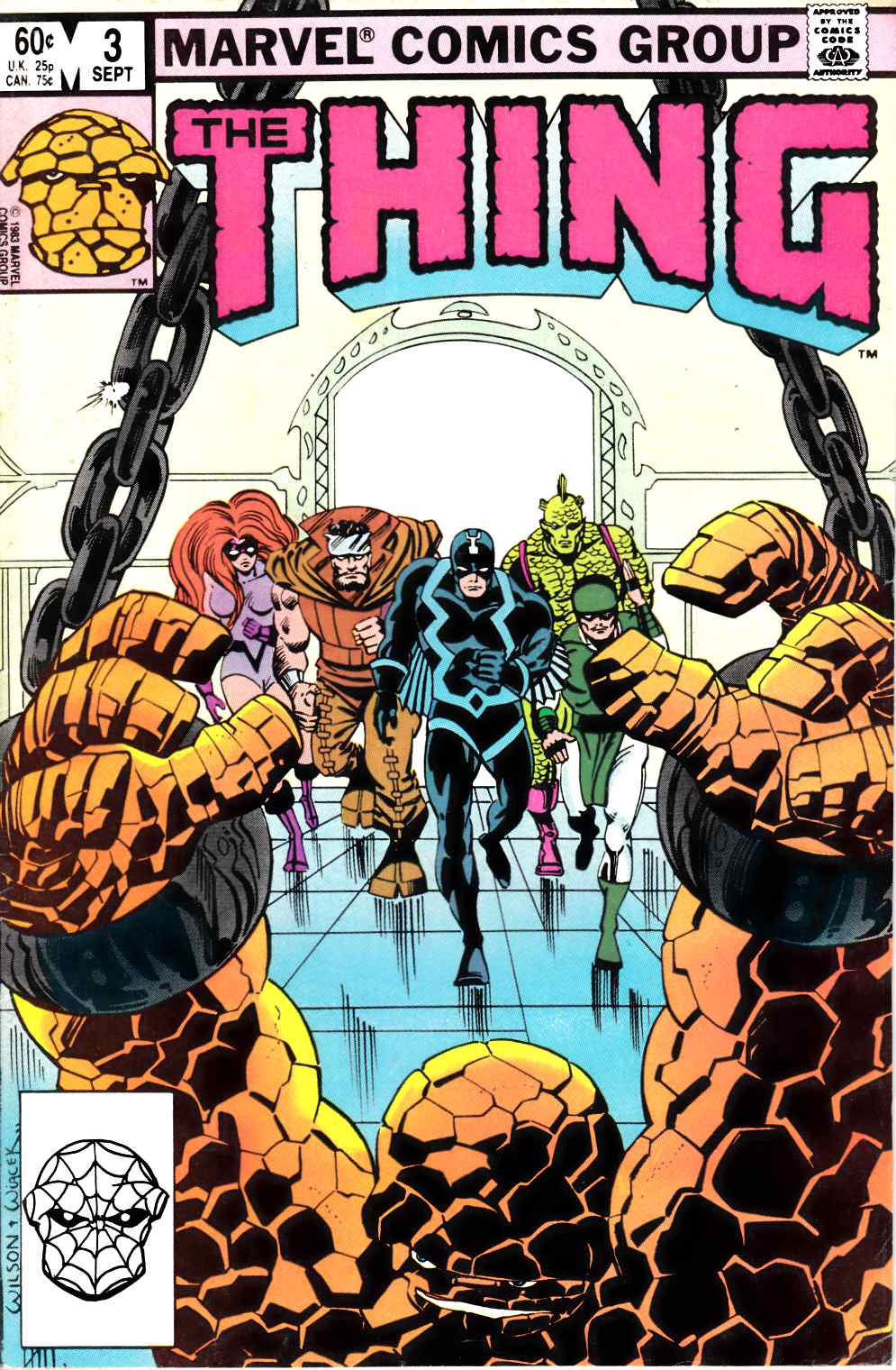The Thing #3 Fine Plus (6.5) [Marvel Comic]