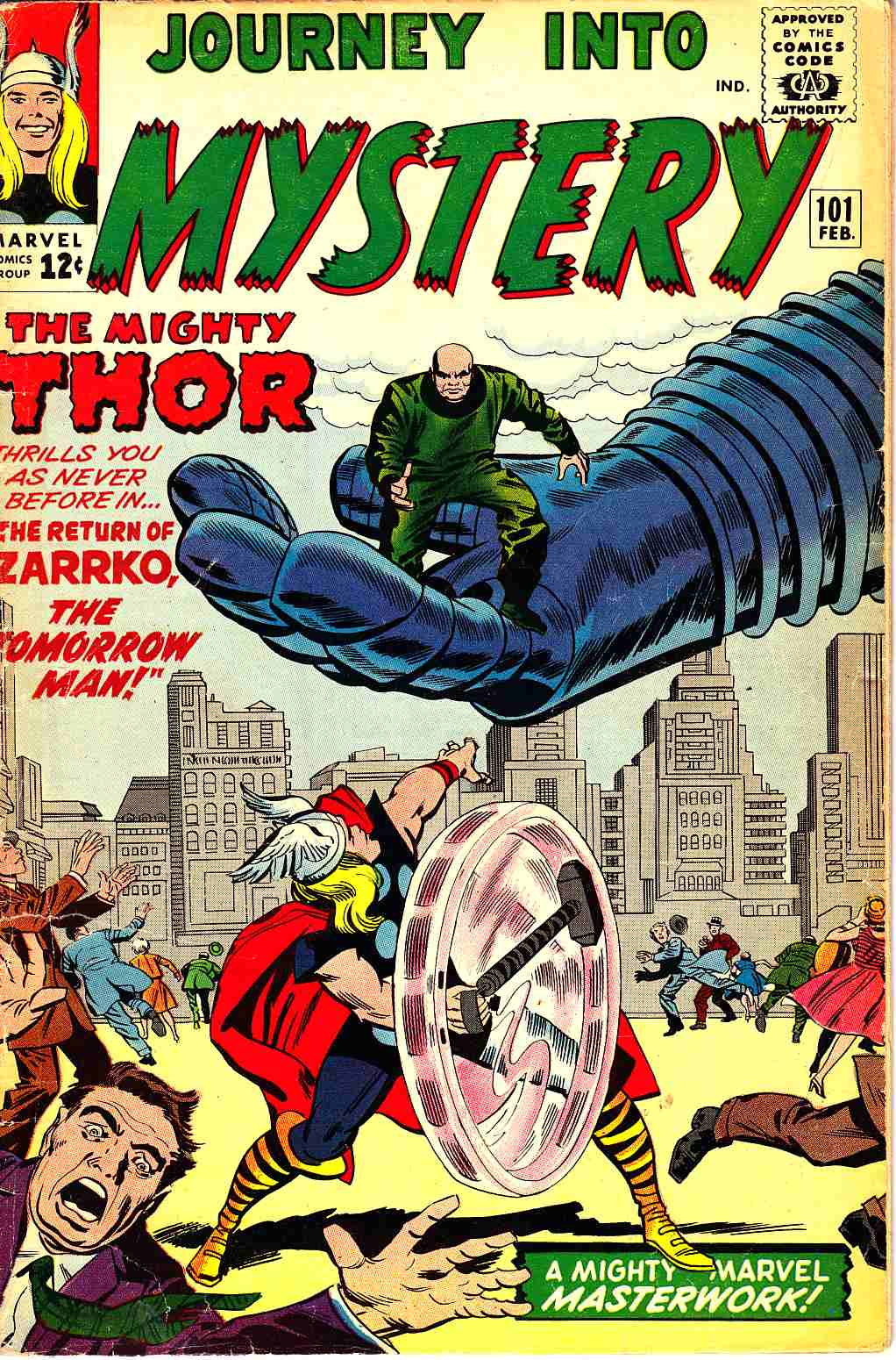 Journey Into Mystery Thor #101 Very Good (4.0) [Marvel Comic] THUMBNAIL