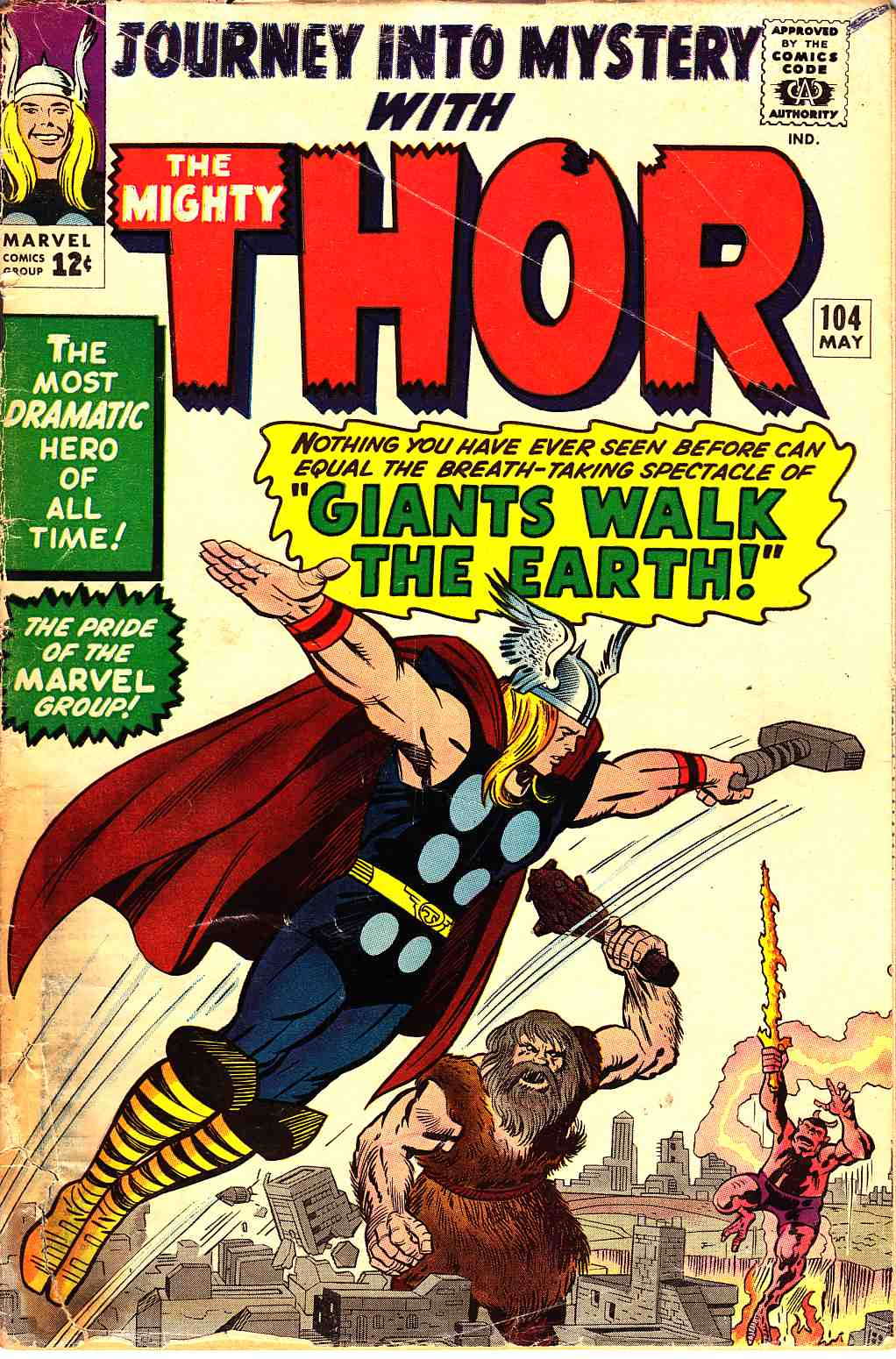 Journey Into Mystery Thor #104  Good (2.0) [Marvel Comic] THUMBNAIL