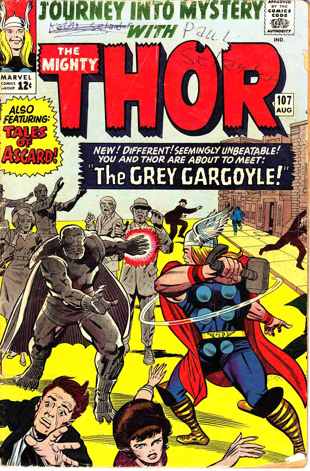 Journey Into Mystery (Thor) #107 [Marvel Comic] LARGE