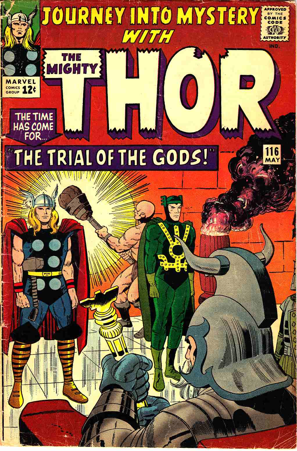Journey Into Mystery Thor #116 Very Good (4.0) [Marvel Comic] THUMBNAIL