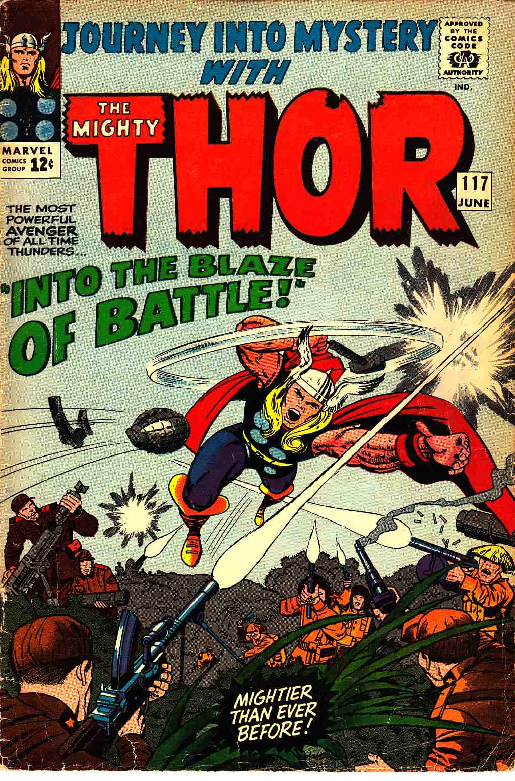 Journey Into Mystery Thor #117 Very Good (4.0) [Marvel Comic] THUMBNAIL