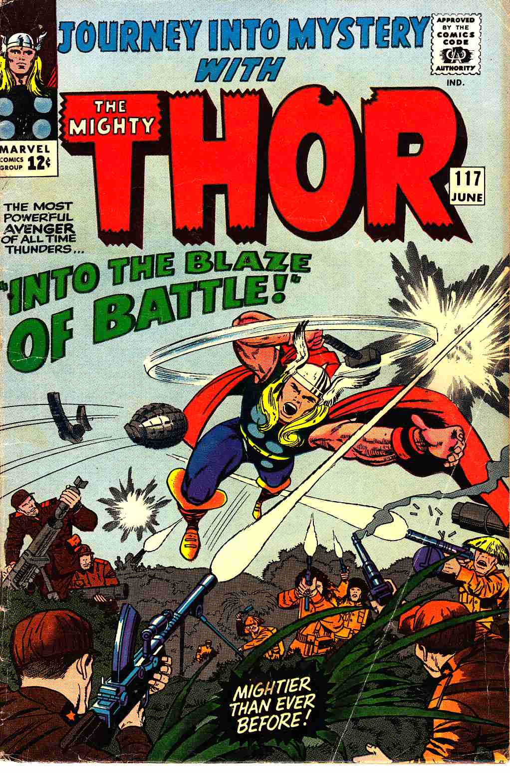 Journey Into Mystery Thor #117 Very Good/Fine (5.0) [Marvel Comic] THUMBNAIL