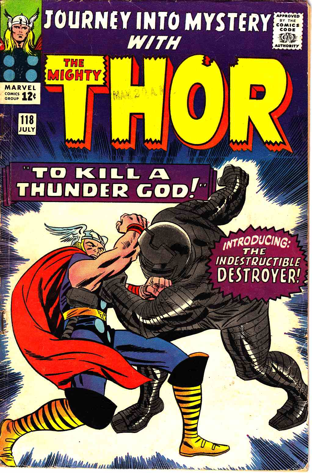 Journey Into Mystery Thor #118 Very Good Minus (3.5) [Marvel Comic] THUMBNAIL