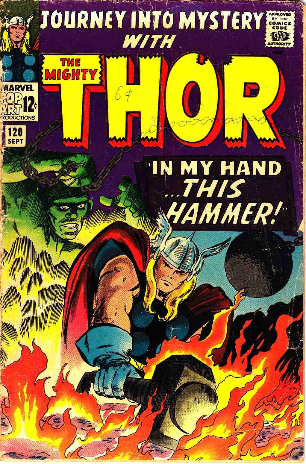 Journey Into Mystery Thor #120 Good (2.0) [Marvel Comic] THUMBNAIL