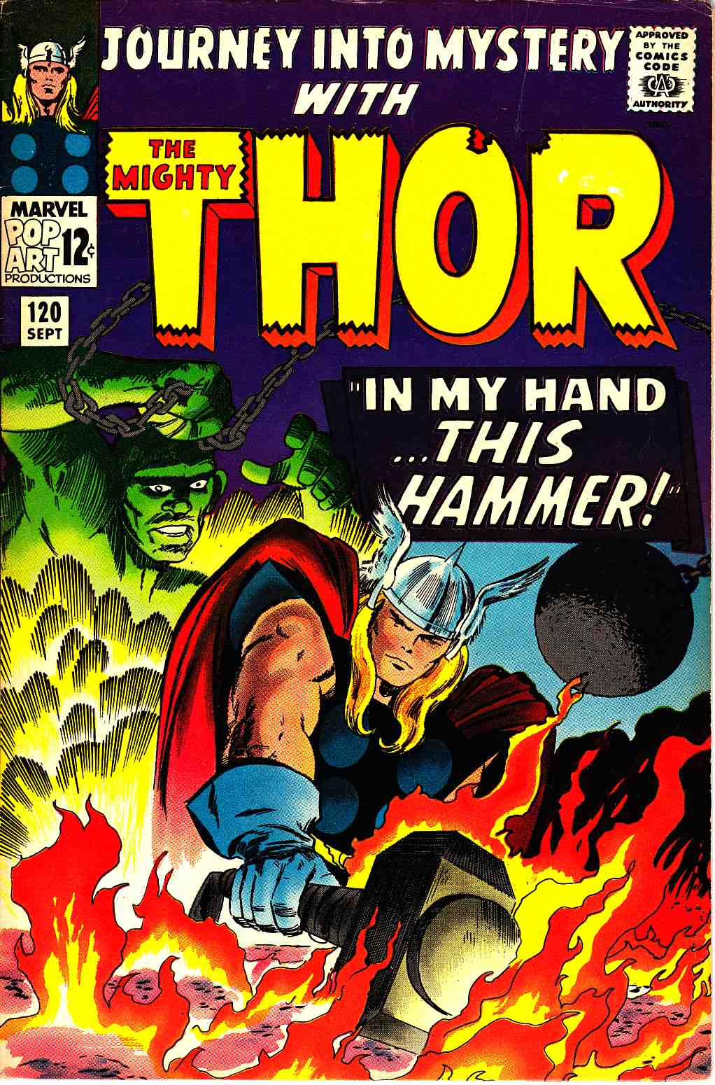 Journey Into Mystery Thor #120 Very Good/Fine (5.0) [Marvel Comic] THUMBNAIL