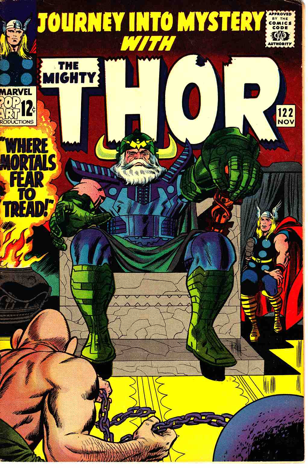Journey Into Mystery Thor #122 Very Fine Minus (7.5) [Marvel Comic] THUMBNAIL