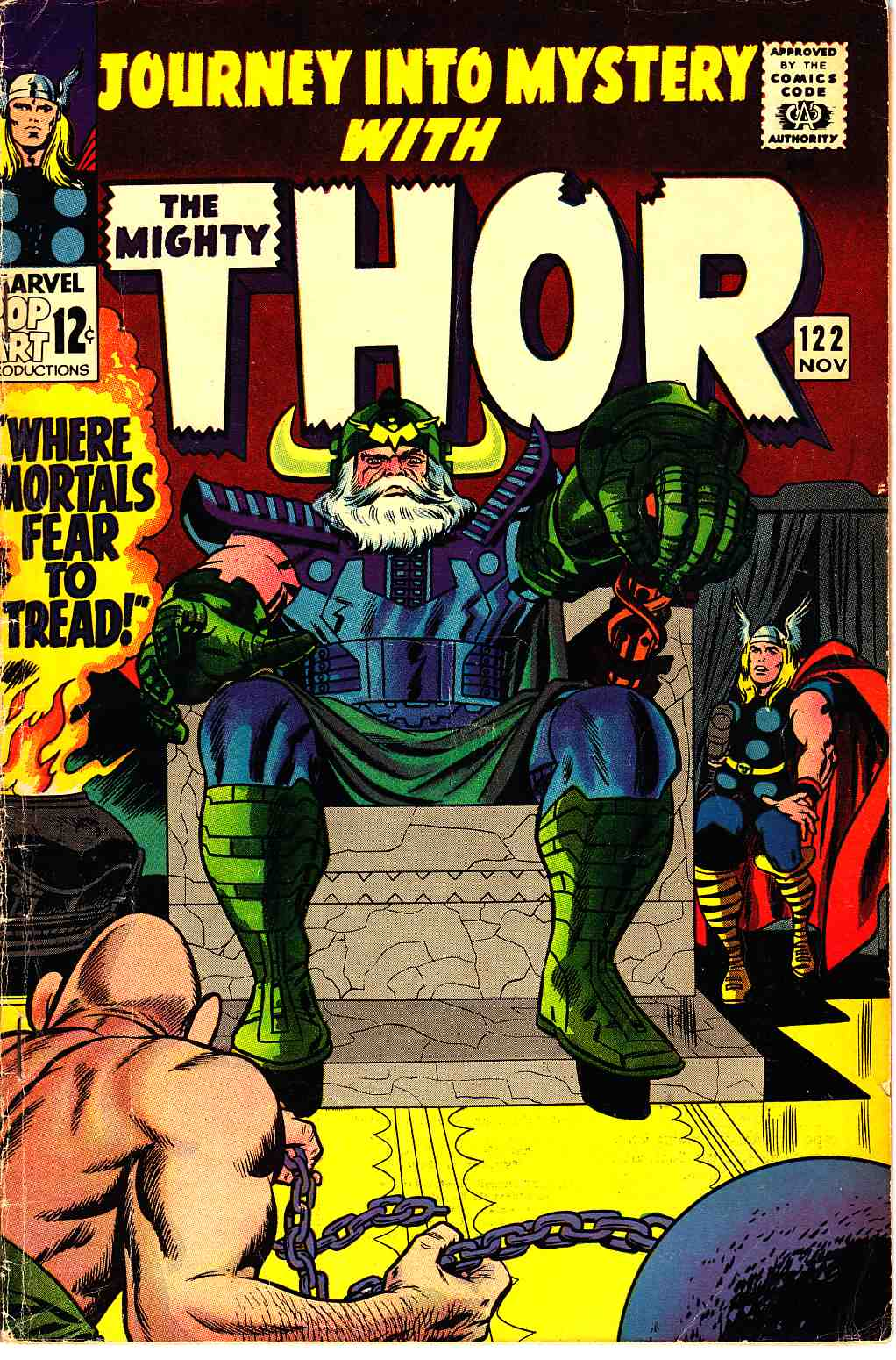Journey Into Mystery Thor #122 Very Good (4.0) [Marvel Comic] THUMBNAIL