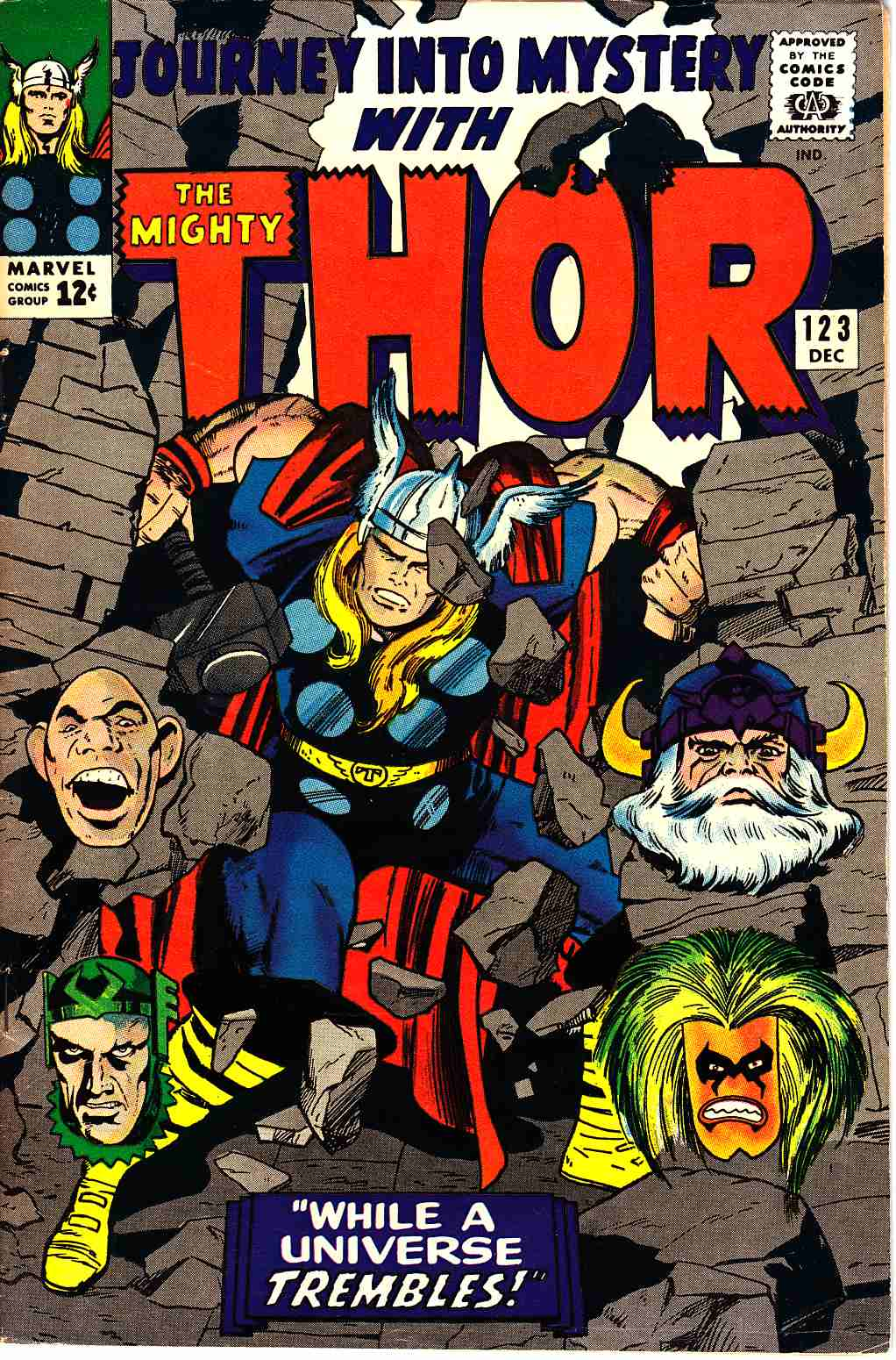 Journey Into Mystery Thor #123 Fine/Very Fine (7.0) [Marvel Comic] THUMBNAIL