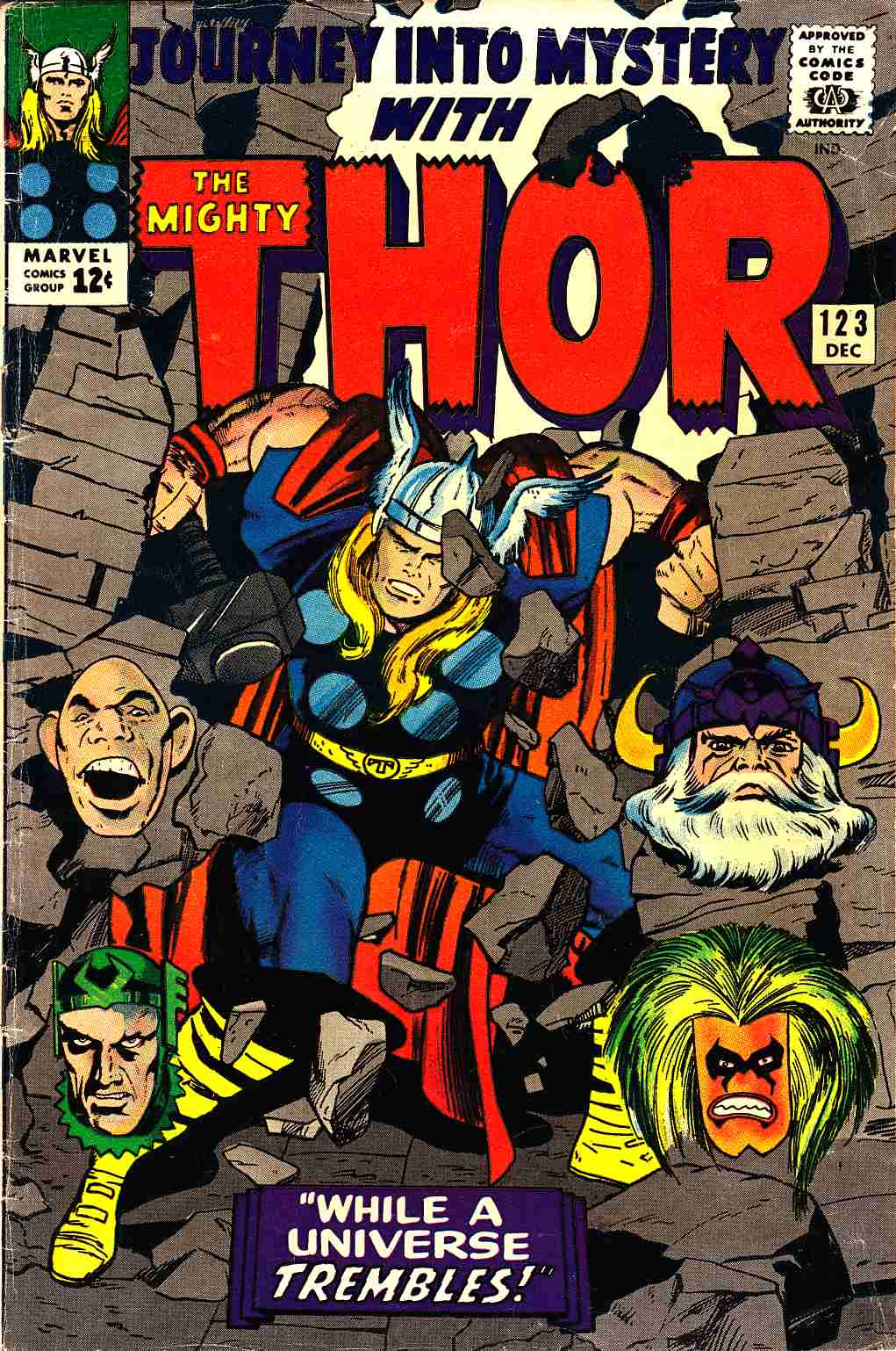 Journey Into Mystery Thor #123 Very Good (4.0) [Marvel Comic] THUMBNAIL