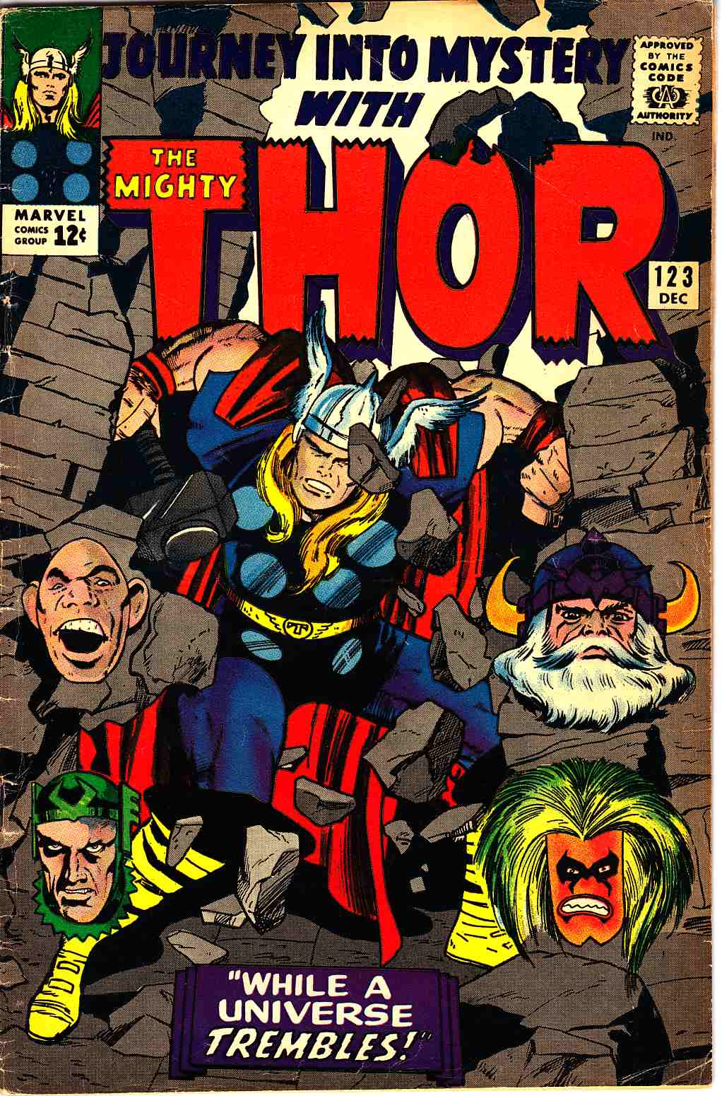 Journey Into Mystery Thor #123 Very Good/Fine (5.0) [Marvel Comic] THUMBNAIL