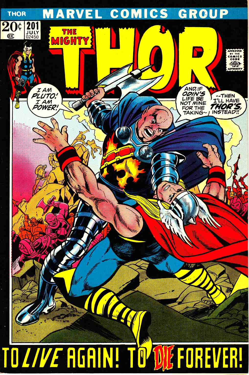 Thor #201 [Marvel Comic]