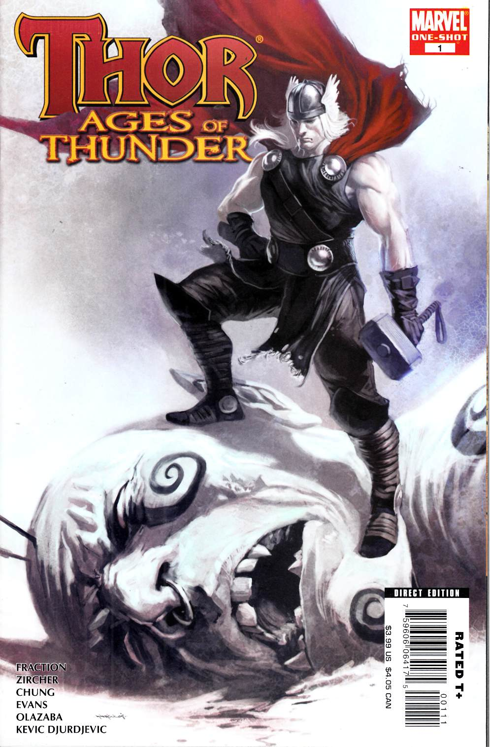 Thor Ages of Thunder #1 Near Mint (9.4) [Marvel Comic] THUMBNAIL