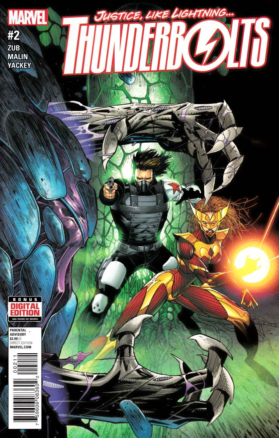 Thunderbolts #2 [Marvel Comic] LARGE