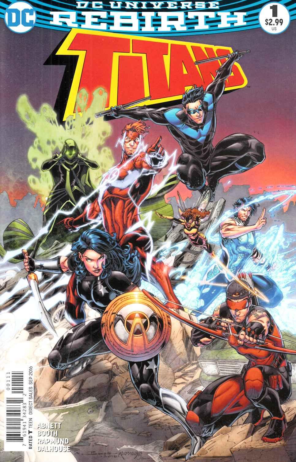 DC Comics Rebirth Titans #15 NM