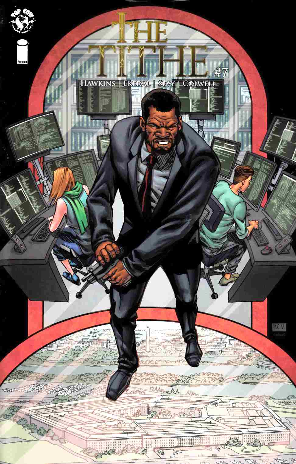 Tithe #7 Cover B- Sevy [Image Comic] THUMBNAIL