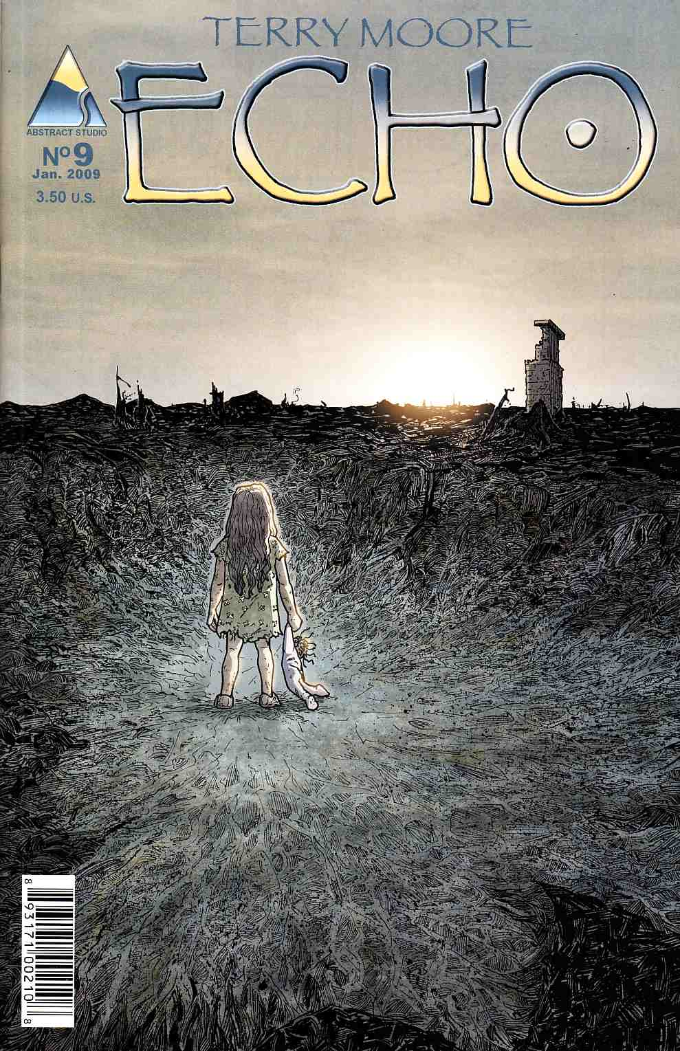 Terry Moore's Echo #9 [Abstract Comic] THUMBNAIL