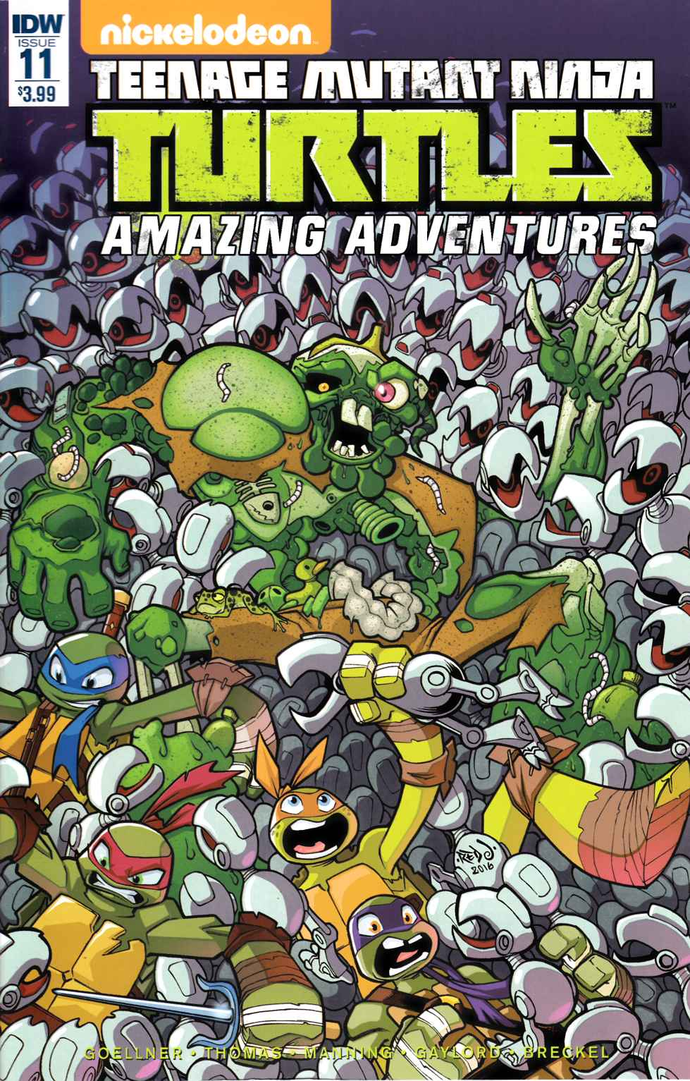 TMNT Amazing Adventures #11 [IDW Comic] THUMBNAIL