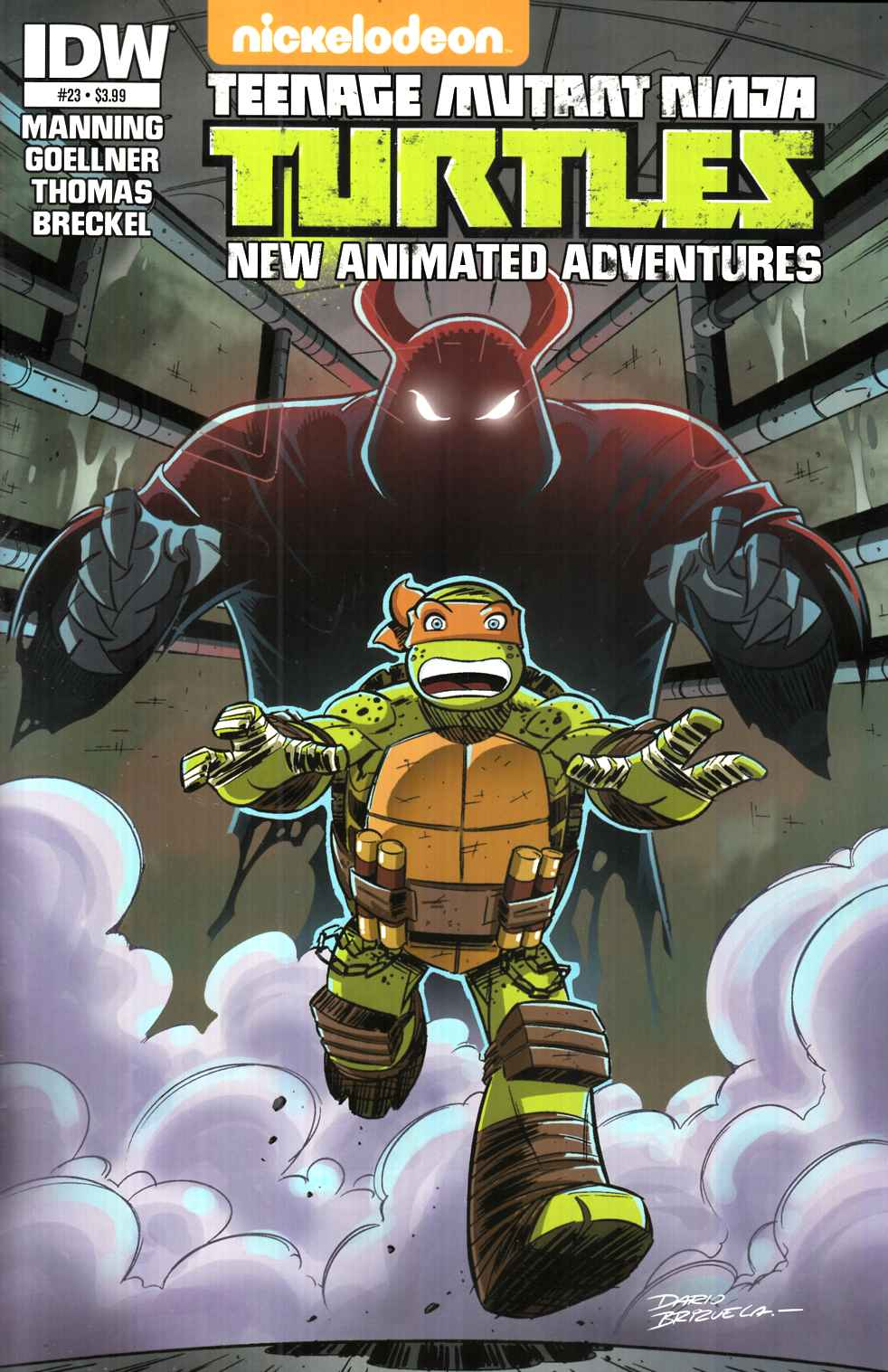 TMNT New Animated Adventures #23 [IDW Comic] THUMBNAIL
