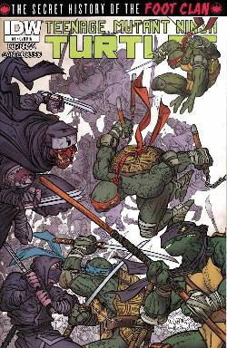 Teenage Mutant Ninja Turtles Secret Foot Clan #1 Cover RIA [Comic] LARGE