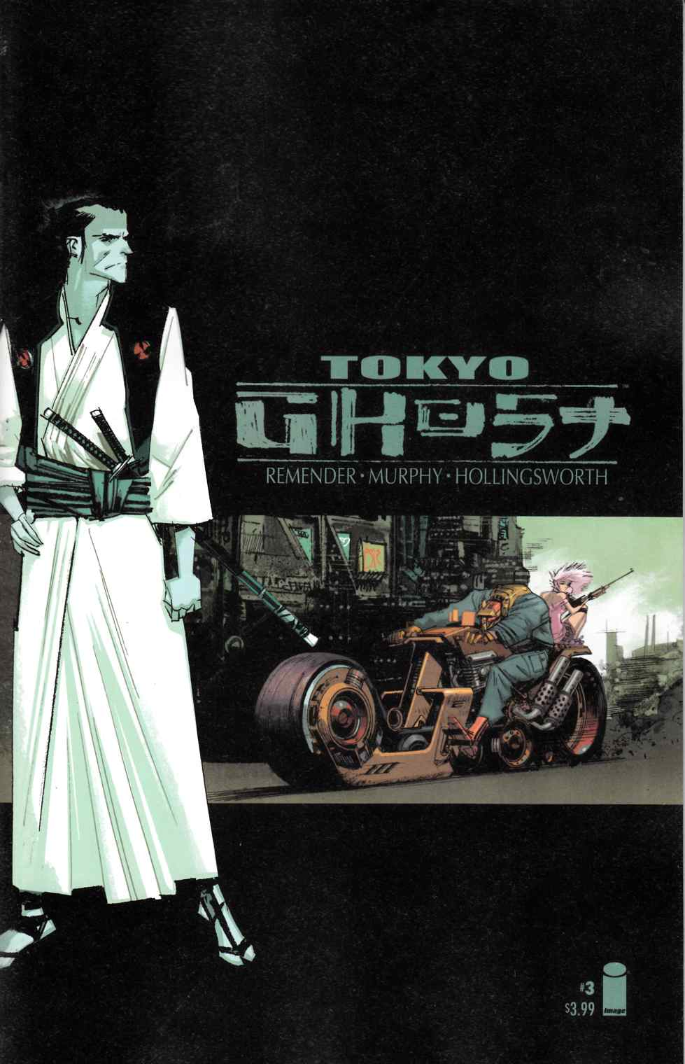 Tokyo Ghost #3 Cover B [Image Comic]