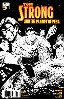 Tom Strong And the Planet of Peril #1 B&W Variant Cover [Comic]_THUMBNAIL