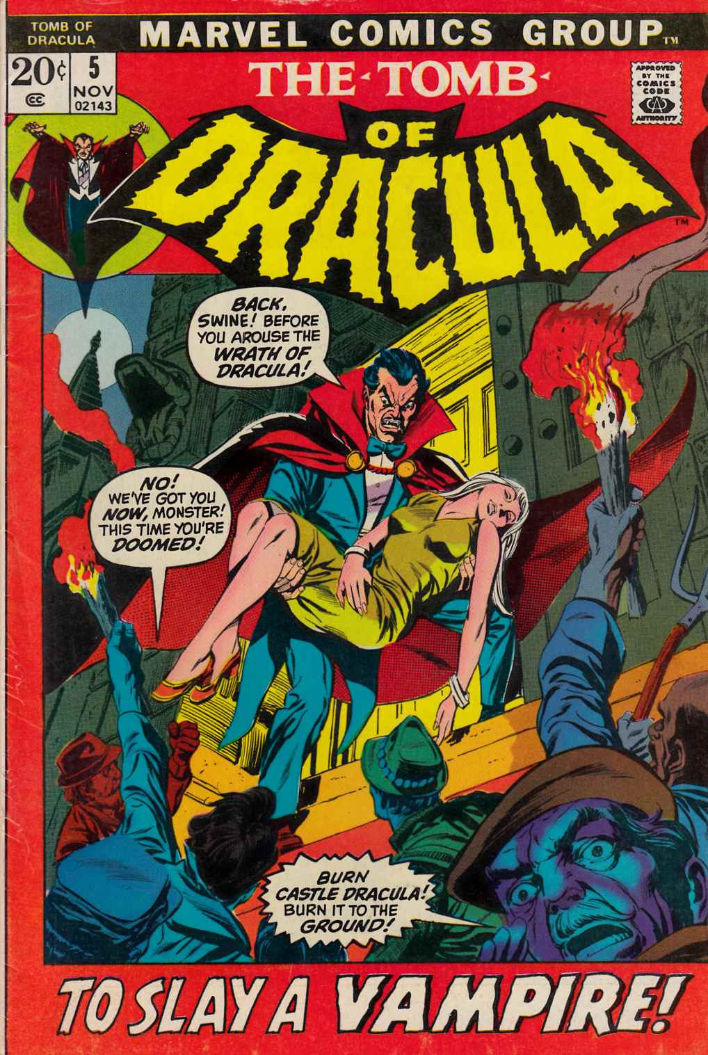 Tomb of Dracula #5 [Marvel Comic]_LARGE
