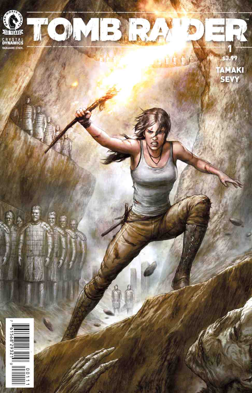 Tomb Raider 2016 #1 [Dark Horse Comic] THUMBNAIL