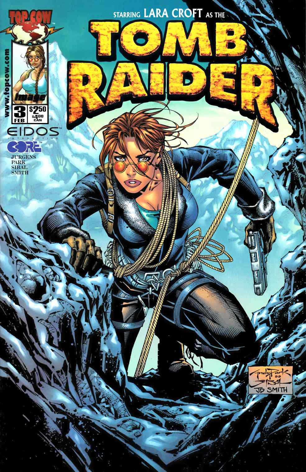 Tomb Raider #3 Near Mint (9.4) [Image Comic] LARGE