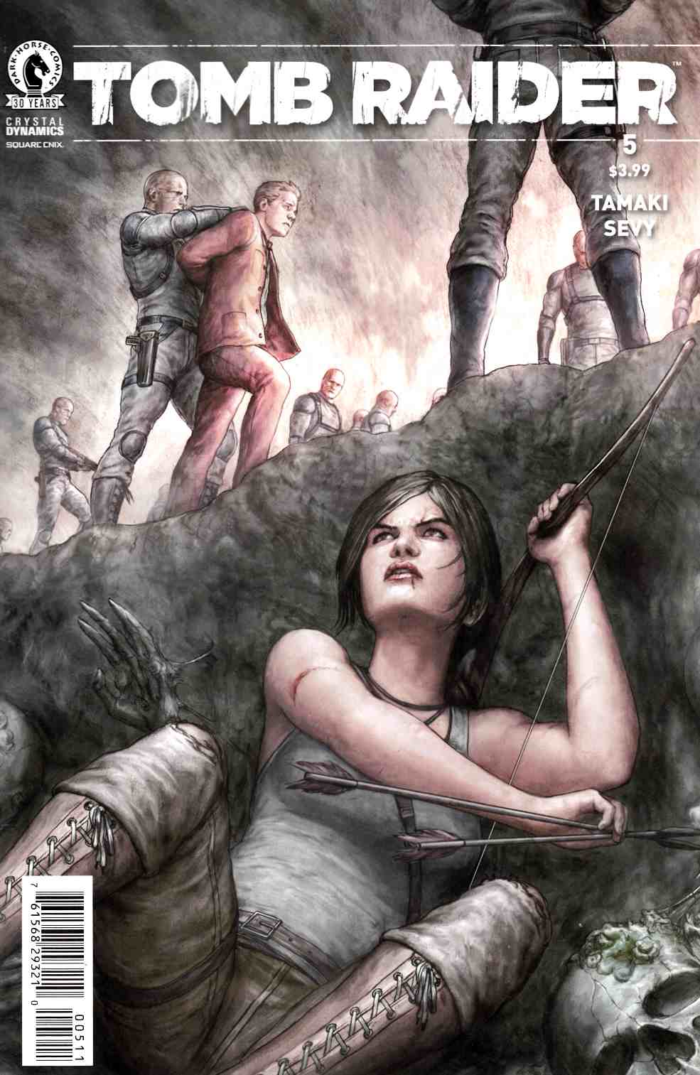 Tomb Raider 2016 #5 [Dark Horse Comic] THUMBNAIL