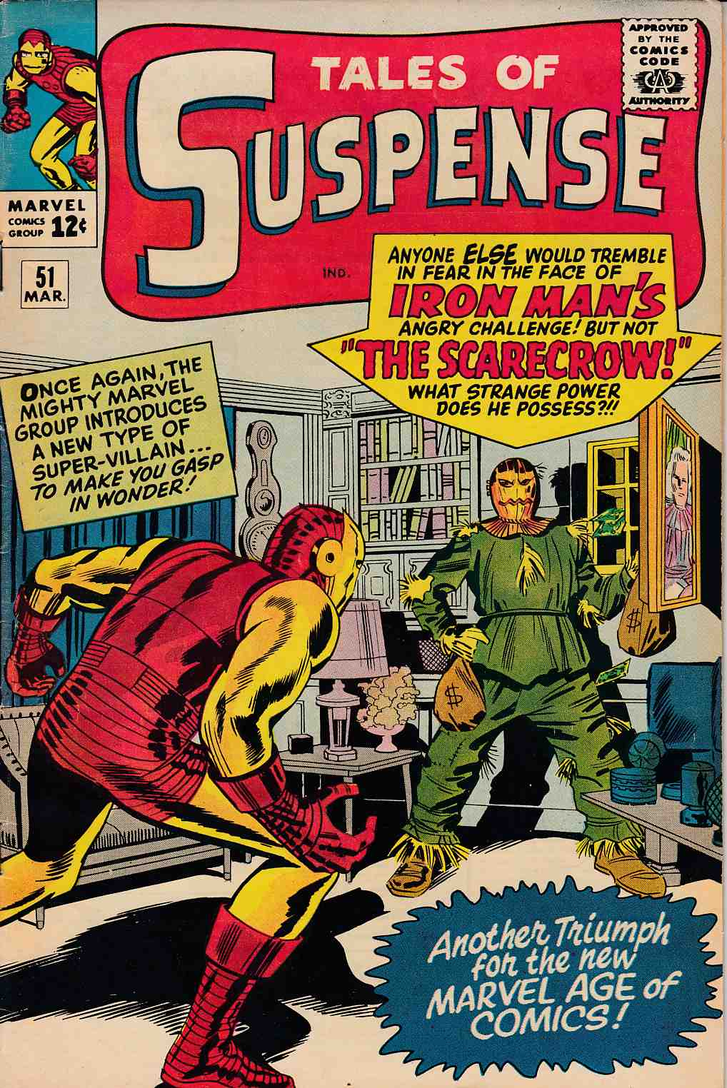 Tales of Suspense #51 Fine Plus (6.5) [Marvel Comic] LARGE