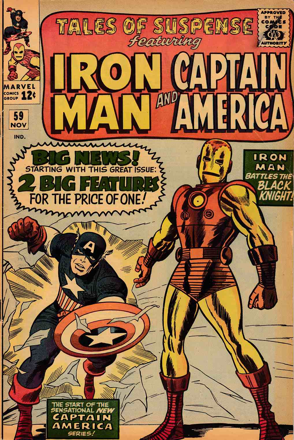Tales of Suspense #59 Very Good/Fine (5.0) [Marvel Comic] THUMBNAIL