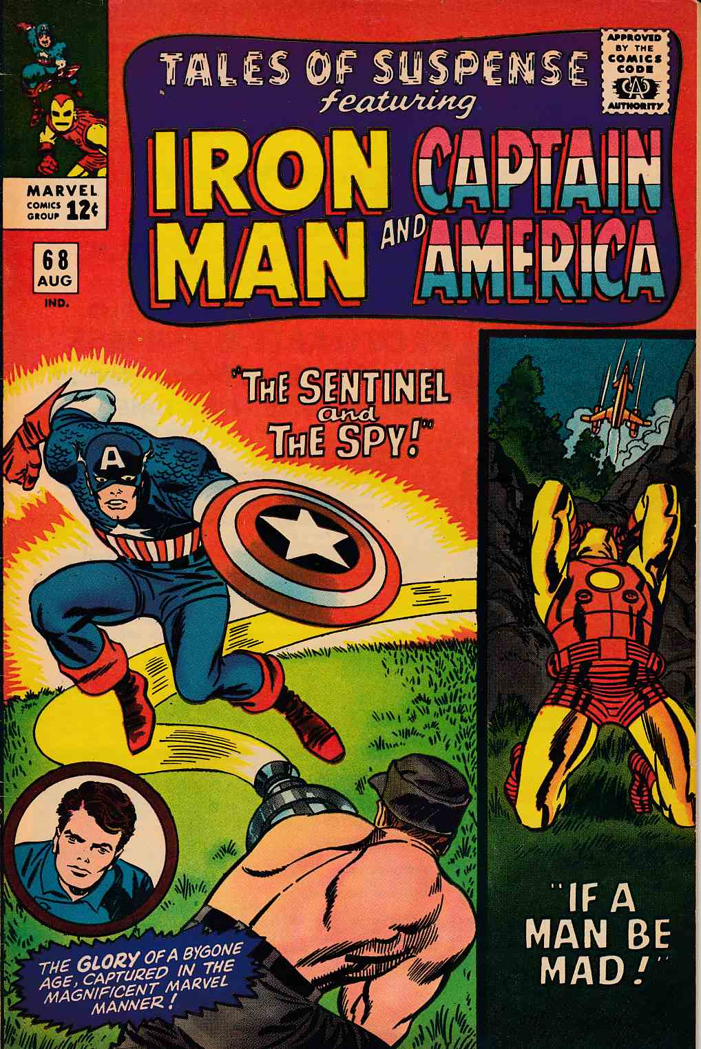 Tales of Suspense #68 Fine Plus (6.5) [Marvel Comic] THUMBNAIL