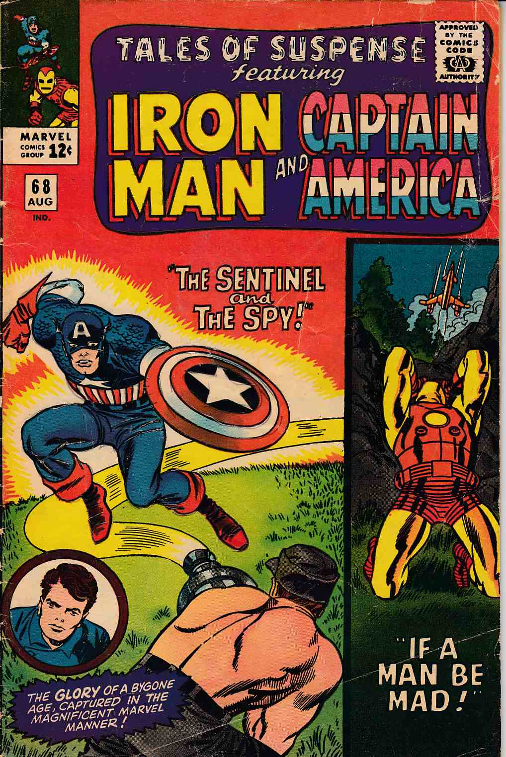 Tales of Suspense #68 Good Plus (2.5) [Marvel Comic] THUMBNAIL