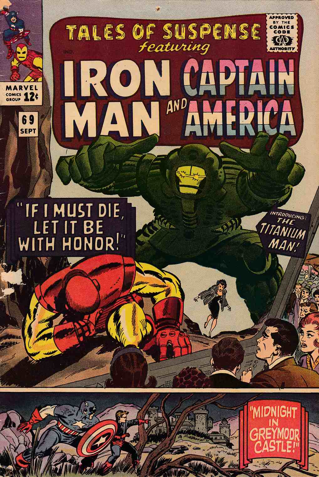 Tales of Suspense #69 Good Minus (1.8) [Marvel Comic] THUMBNAIL