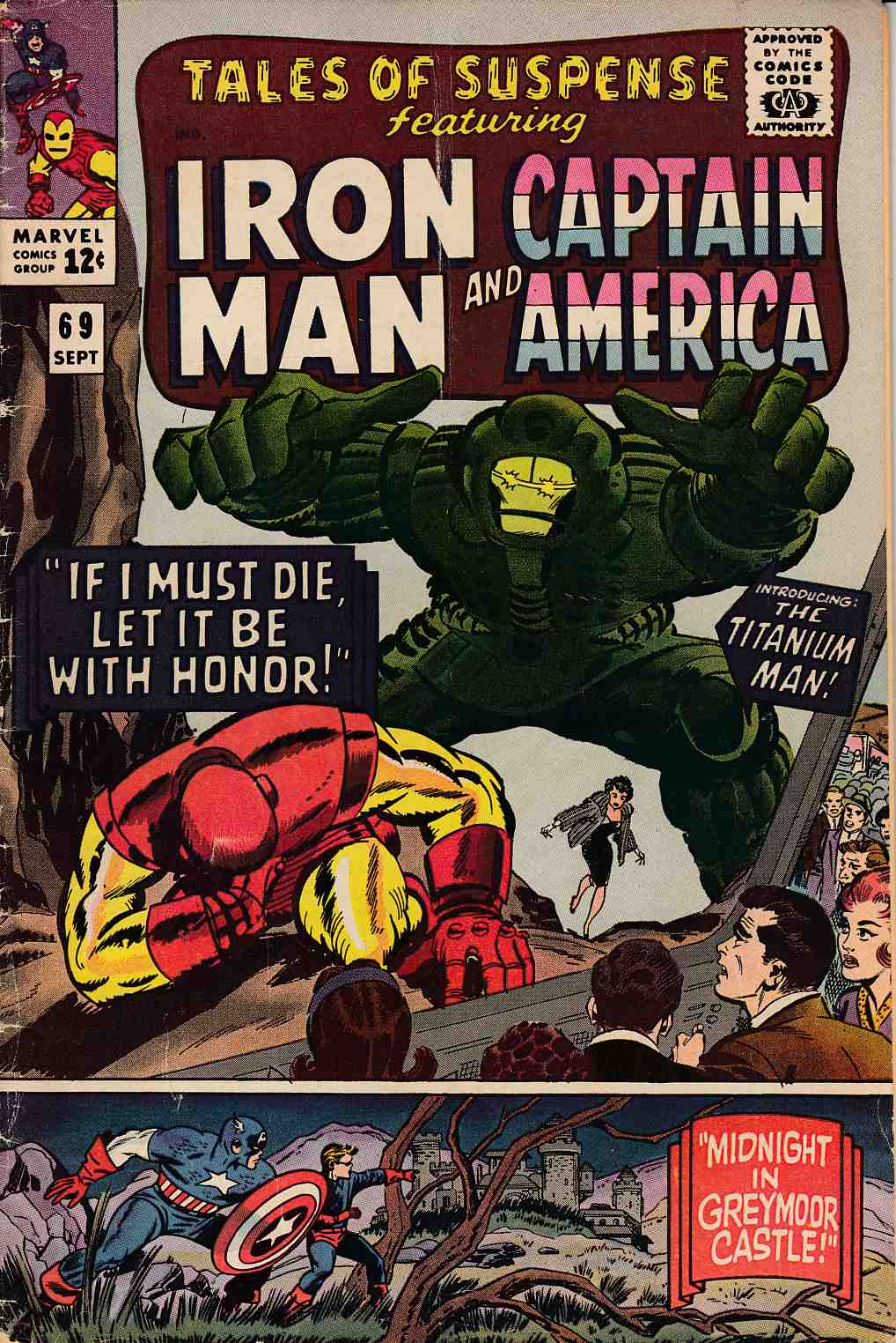 Tales of Suspense #69 Very Good Minus (3.5) [Marvel Comic] THUMBNAIL