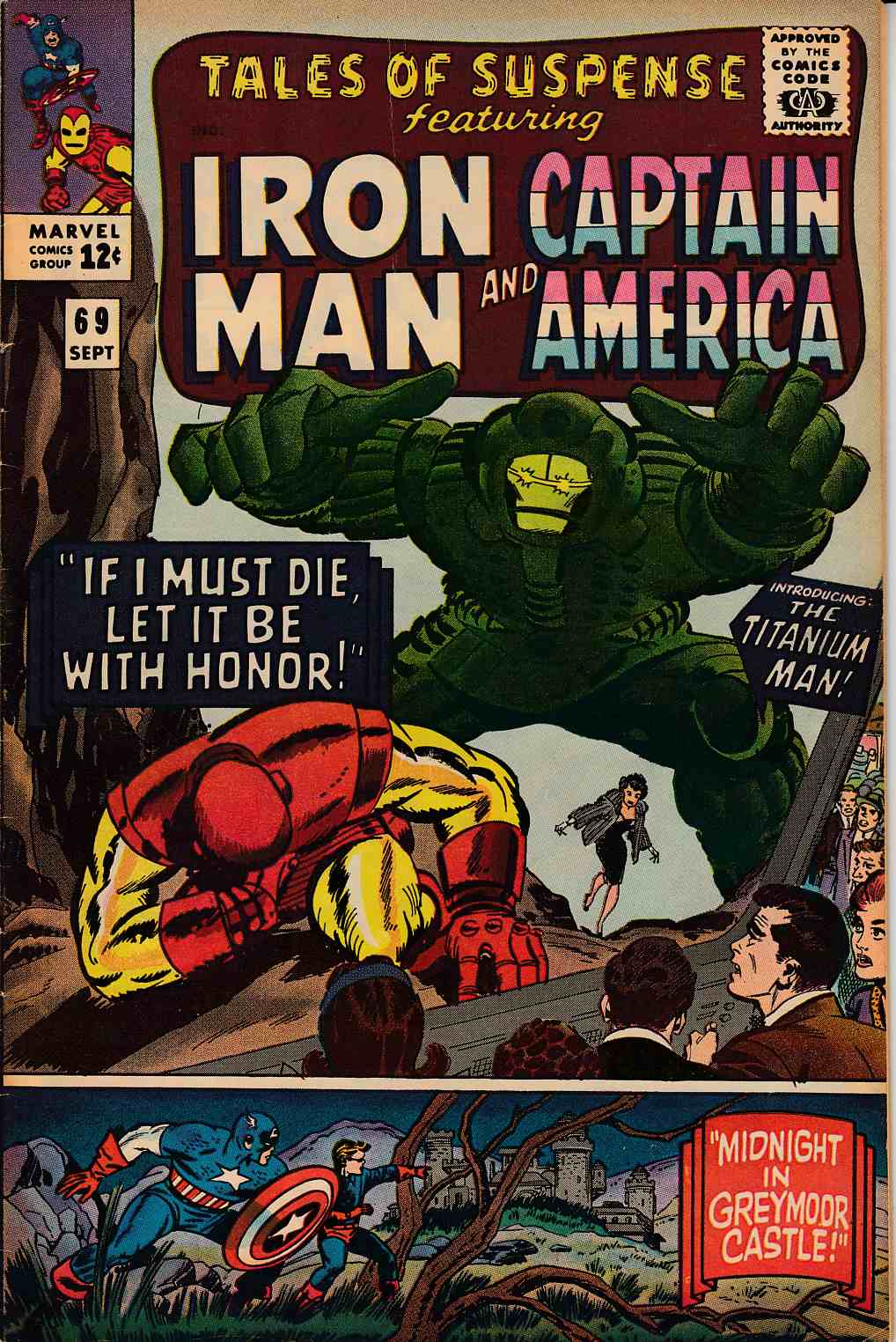 Tales of Suspense #69 Very Good Plus (4.5) [Marvel Comic] THUMBNAIL