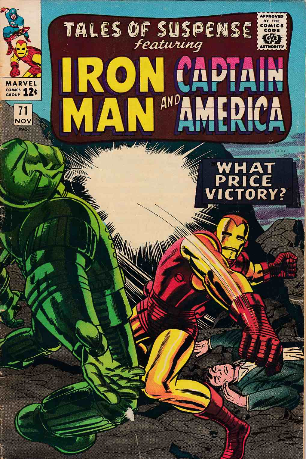 Tales of Suspense #71 Very Good (4.0) [Marvel Comic] THUMBNAIL