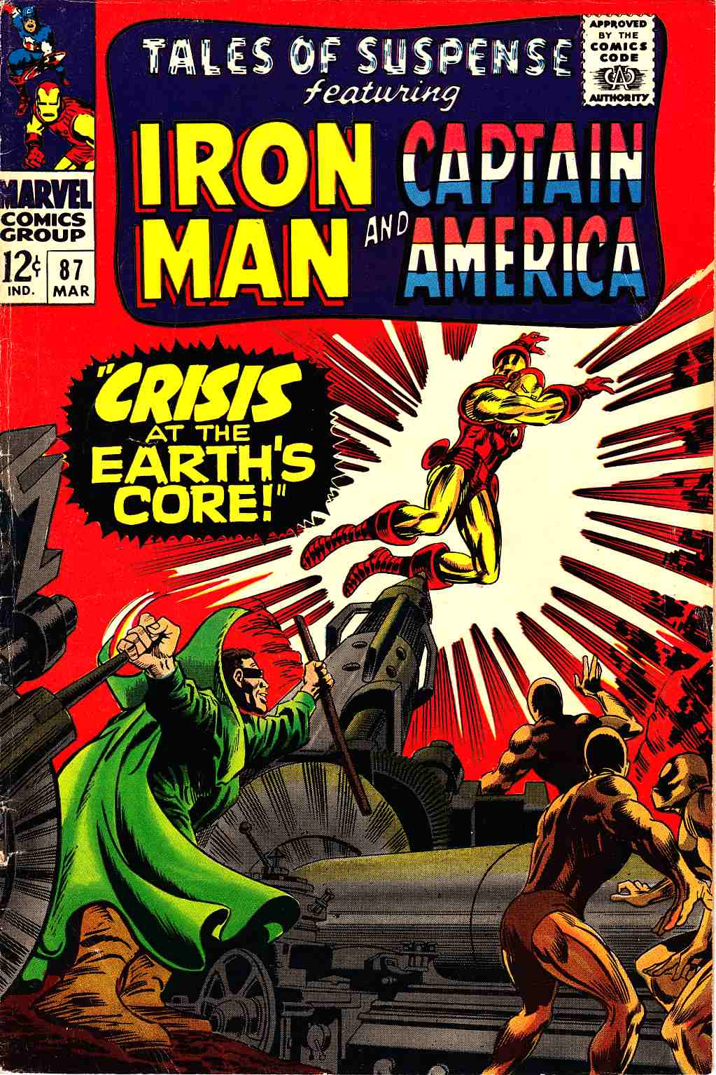 Tales of Suspense #87 Very Good (4.0) [Marvel Comic] THUMBNAIL