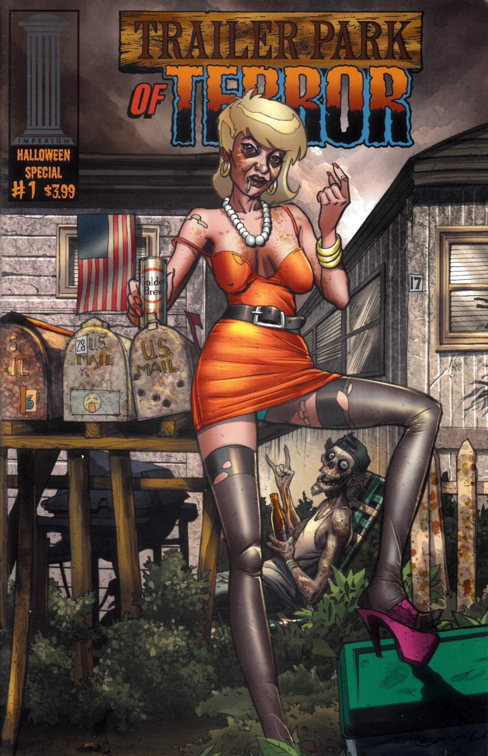 Trailer Park of Terror Halloween Special #1 Cover B Very Good/Fine (5.0) [Imperium Comic] LARGE