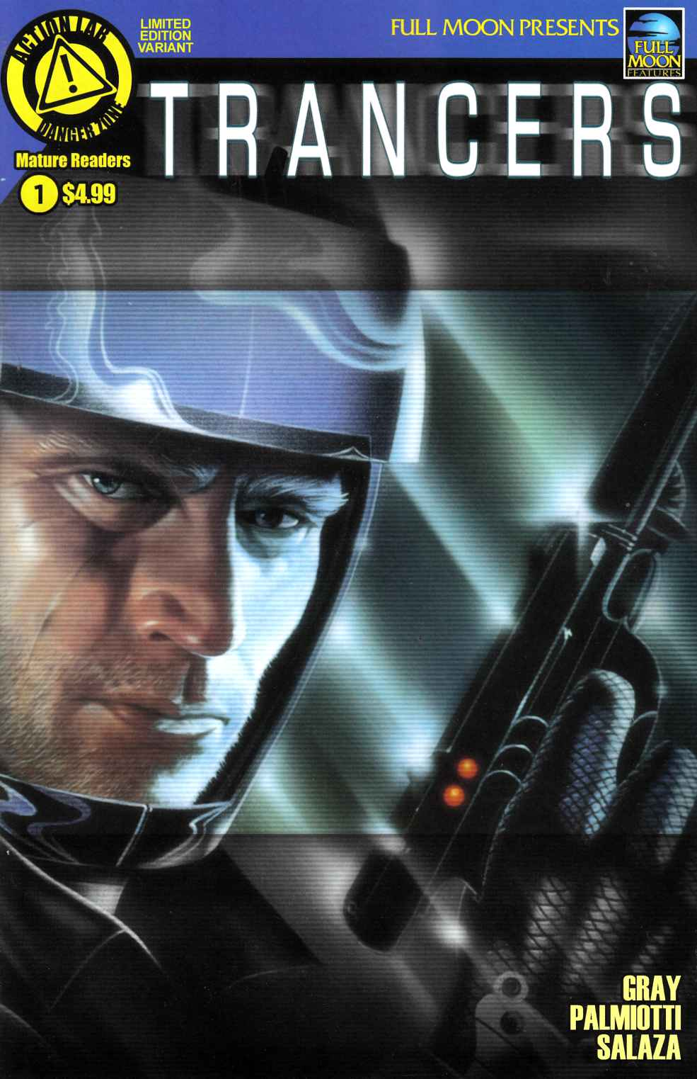 Trancers #1 Poster Variant Cover [Action Lab Comic] THUMBNAIL