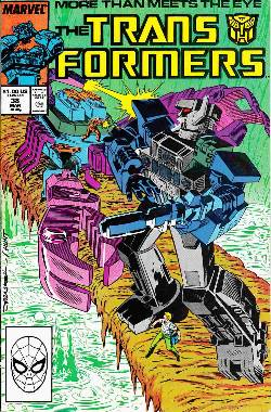 Transformers #38 [Marvel Comic] LARGE