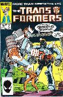Transformers #7 2rd Print [Marvel Comic] THUMBNAIL