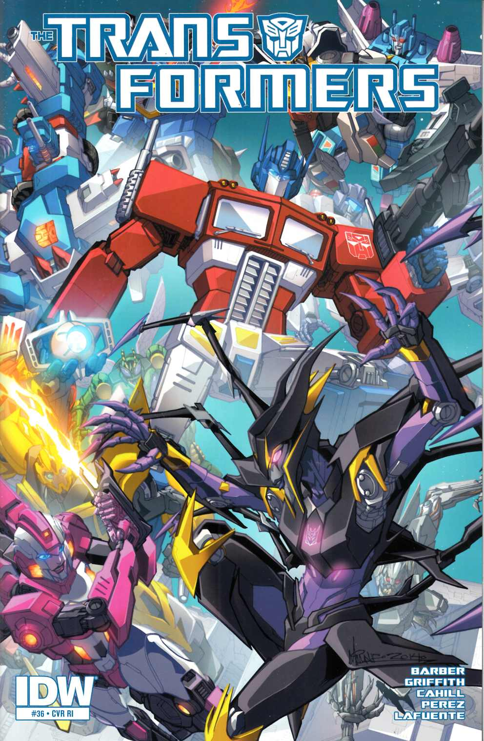 Transformers #36 Cover RI [IDW Comic] THUMBNAIL