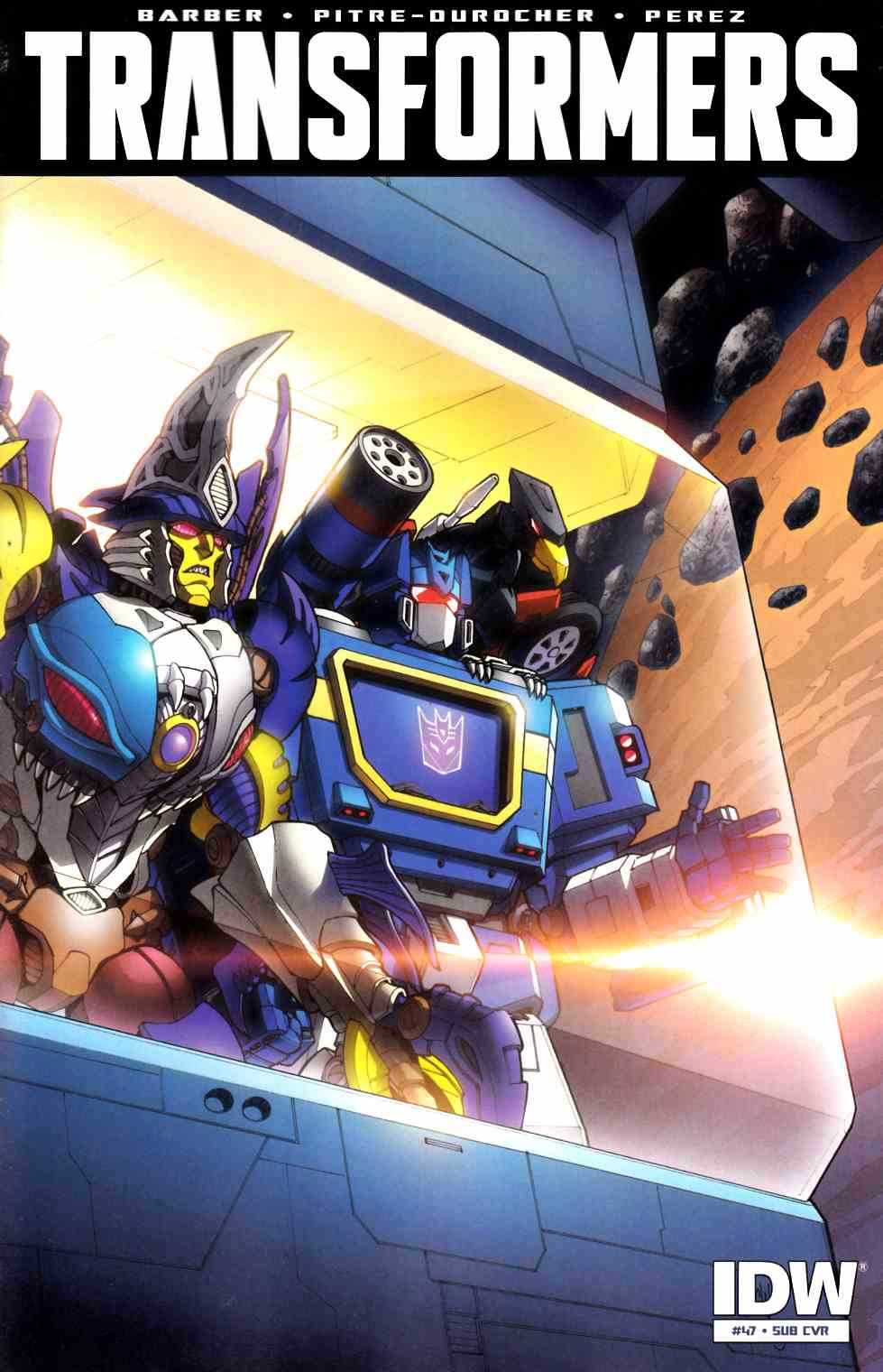 Transformers #47 Subscription Cover [IDW Comic]