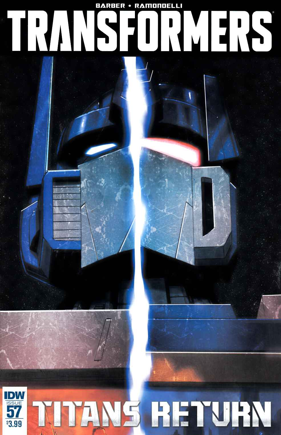 Transformers #57 [IDW Comic] LARGE