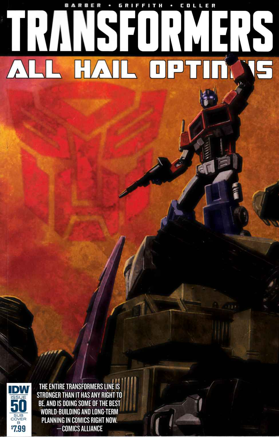 Transformers #50 Cover C- Choi [IDW Comic] THUMBNAIL