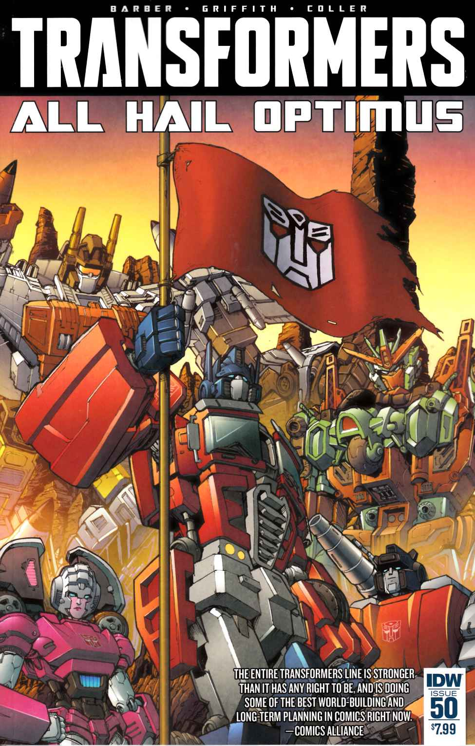 Transformers #50 Cover A [IDW Comic] THUMBNAIL