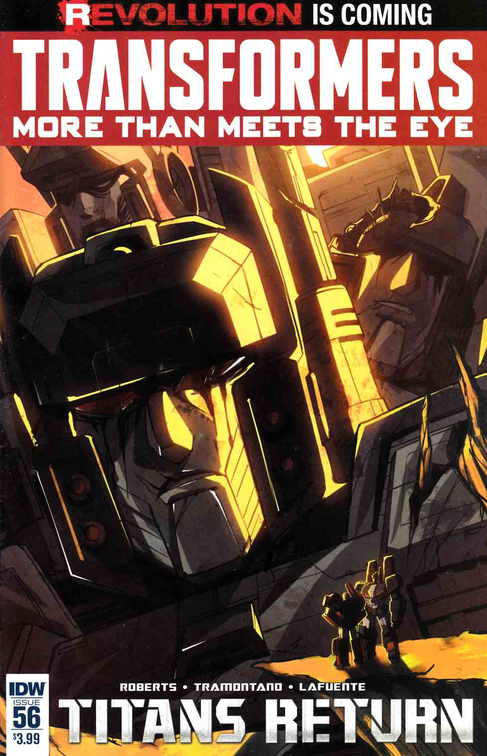 Transformers More Than Meets Eye #56 [IDW Comic] LARGE