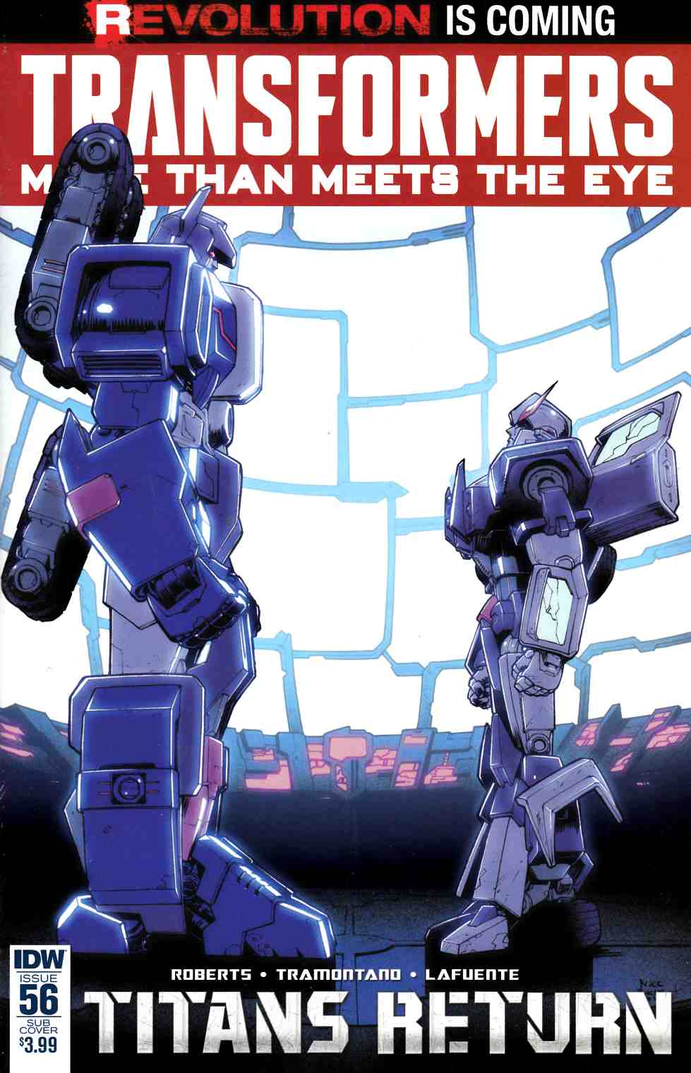 Transformers More Than Meets Eye #56 Subscription Cover [IDW Comic] LARGE